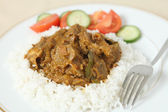 Lamb rogan josh horizontal — Stock Photo