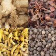 Curry spice composite — Foto de Stock