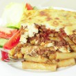 Pastitsio meal deep focus - Stock Photo