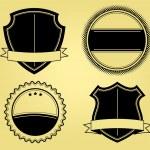 Shields Illustrations — Stock Vector #7129367