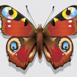 Colourful Vector Butterfly. Vector illustration. — Stock Vector #7125266