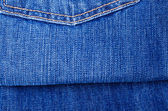 Textura azul jeans — Foto Stock