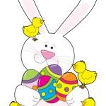 Easter Bunny Love — Stock Vector #7126282