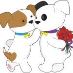 Puppy Love — Stock Vector #7126406