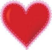 3D Heart — Stock Vector