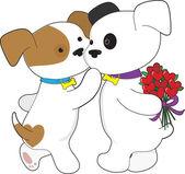 Puppy Love — Stock Vector