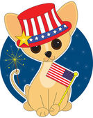 Chihuahua Independence Day — Stock Vector