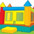 Bounce Castle - Stock Vector