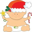 Royalty-Free Stock Vector Image: Baby Christmas