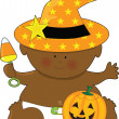 Baby Halloween — Stock Vector #7177278