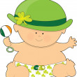 Baby St. Patricks — Stock Vector