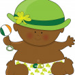 Baby St. Patricks Day - Stock Vector