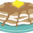 Pancakes - Stock Vector