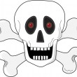 Royalty-Free Stock Vector Image: Skull