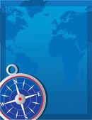 指南针背景 — 图库矢量图片