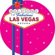 Vegas Sign — Stockvector #7195325