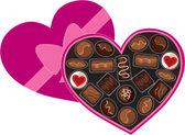 Box of Chocolates — Stock Vector
