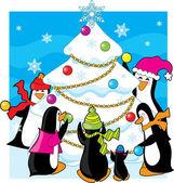 Ice Christmas — Cтоковый вектор