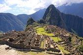 Machu picchu, perú — Foto de Stock