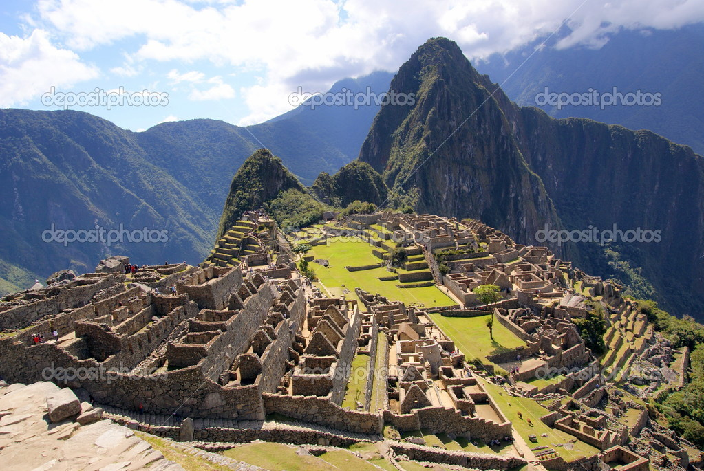 Machu Picchu, Peru — Stock Photo #7104427
