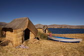 Uros, Peru — Stock Photo