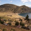 Isldel sol, Titicaclake, Bolivia — Stock Photo #7265095