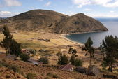 Isla del sol, Titicaca lake, Bolivia — Stock Photo
