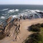 Atlantic coastline, La Paloma, Uruguay — Stock Photo