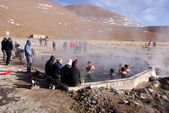 Hot springs, Bolivia — Stock Photo