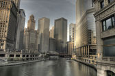 HDR of Chicago — Stock Photo
