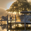 Sunrise in Okoboji, Iowa - Stock Photo