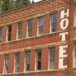 Hotel in Deadwood South Dakota — Stock Photo