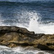 Stock Photo: Waves Crashing in LJolla