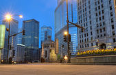 Chicago in the Early Morning — Foto de Stock