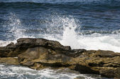 Waves Crashing in La Jolla — Stock Photo