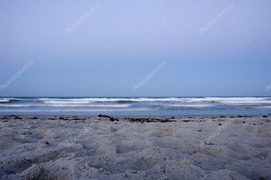 Cocoa Beach in Florida at Dusk. — Stock Photo #7106274