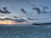 Tybee Beach at Sunrise — Stock Photo