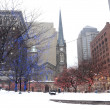Cleveland at Winter — Stock Photo #7198044