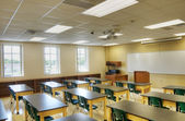 Classroom at Middle School — Foto de Stock