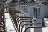 Close up of Rebar — Stock Photo
