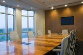 Interior of Board Room — Stock Photo