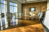 HDR of Conference Room — Stock Photo