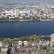 Charles River in Boston - Stock Photo