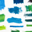 Stock Photo: Paint Texture