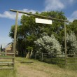 Ranch Entrance — Stock Photo #7220983