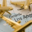 Planes Over Los Angeles - Foto de Stock  