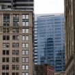 Achitecture in Boston - Stockfoto