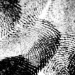 Black Ink Fingerprints - Stock Photo
