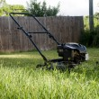 Lawn Mower on Grass — Stockfoto
