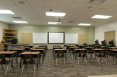 Classroom at Middle School — Stock Photo